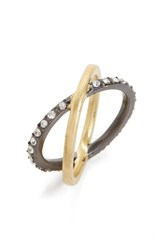 Madewell Women's Pave Crossover Ring