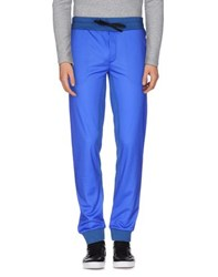 Amaranto Trousers Casual Trousers Men Bright Blue