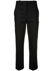 Jil Sander Navy Slim Fit Tailored Trousers Blue
