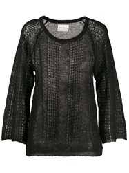 Antik Batik Fine Knit Jumper Black