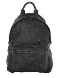 Officine Creative Tumbled Leather Backpack