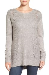 Nydj Petite Women's Sequin Knit Tunic