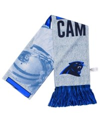 Forever Collectibles Cam Newton Carolina Panthers Sublimated Player Scarf Blue