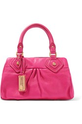 Marc By Marc Jacobs Baby Groovee Textured Leather Tote Magenta