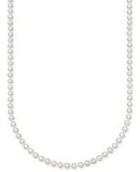 Belle De Mer A Cultured Freshwater Pearl Strand Necklace 7 1 2 8 1 2Mm In 14K Gold