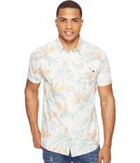 Rip Curl Island Time Short Sleeve Shirt Off White Men's Clothing