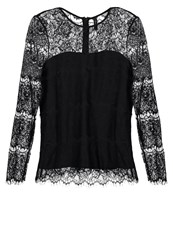 Y.A.S Yas Yasmai Long Sleeved Top Black