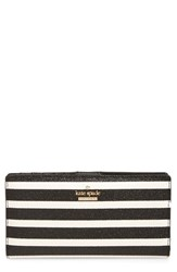 Kate Spade Women's New York Hawthorne Lane Stacy Glitter And Faux Leather Wallet