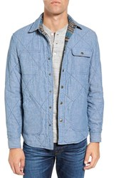 Faherty Men's Reversible Shirt Jacket