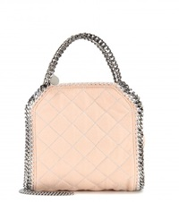 Stella Mccartney Falabella Mini Quilted Tote Pink