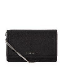 Givenchy Pandora Wallet With Chain Strap Black