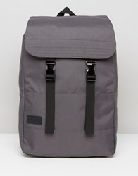 Dead Vintage Canvas Shopper Backpack Grey Green