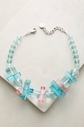 Anthropologie Azores Choker Necklace Turquoise