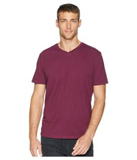 Mod O Doc Del Mar Short Sleeve V Neck Tee Mulberry T Shirt Purple