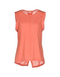 40Weft T Shirts Coral