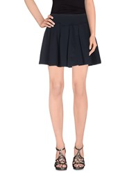 Kai Aakmann Kai Aakmann Skirts Mini Skirts Women Dark Blue