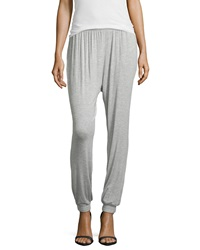 Philosophy Smocked Waist Relaxed Fit Sweatpants Light Heather Gray