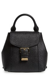 Burberry 'Belmont' Convertible Leather Backpack Black