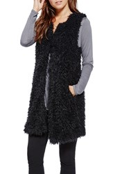 Women's Two By Vince Camuto Faux Fur Long Vest