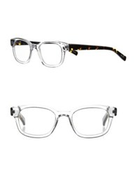 Eyebobs Butch 20 45Mm Square Reading Glasses Clear