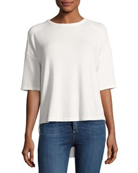 Rag And Bone Phoenix Short Sleeve Jersey Tee White