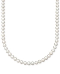 Belle De Mer Cultured Freshwater Pearl Strand Necklace 7 1 2 8 1 2Mm In 14K Gold