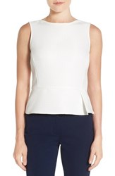 Anne Klein Women's Sleeveless Dot Jacquard Blouse
