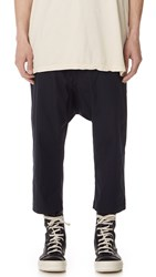 Rick Owens Drkshdw Cropped Trousers Passport