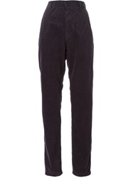 Sofie D'hoore Corduroy Straight Trousers Blue