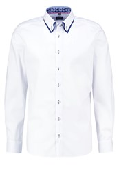 Olymp Level 5 Body Fit Shirt Weiss White