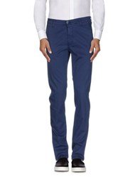 Manuel Ritz Trousers Casual Trousers Men Blue