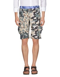 The Editor Trousers Bermuda Shorts Military Green
