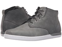 Creative Recreation Vito Grey Charcoal Men's Lace Up Casual Shoes Gray