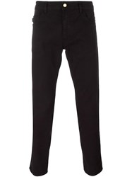 Love Moschino Classic Skinny Trousers Black