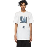 Julius Off White Graphic T Shirt