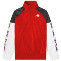 Kappa Authentic La Baswer Usa Track Top Red
