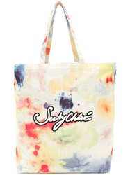 See By Chloe Gimmick Tie Dye Tote Multicolour