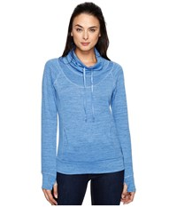 Kuhl L A Pullover Atlantis Women's Long Sleeve Pullover Blue