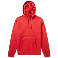 Rrl Double V Pullover Hoody Red