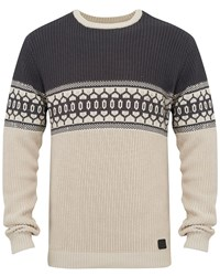 Animal Men's Crew Neck Knit Grey