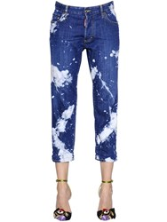 Dsquared Tie And Dye Tomboy Cotton Denim Jeans