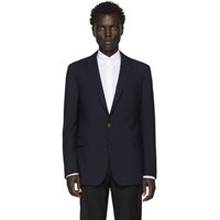 Ralph Lauren Purple Label Navy Wool Rlx Gregory Sport Blazer