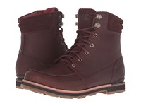 The North Face Bridgeton Boot Tempest Brown Arabian Spice Men's Lace Up Boots