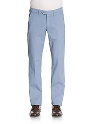 Saks Fifth Avenue Geo Woven Chino Trousers Slate
