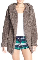 Women's Make Model 'Oh So Cozy' Hooded Cardigan