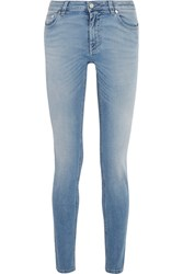 Givenchy Printed Low Rise Skinny Jeans Mid Denim
