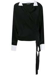 Tom Ford Wrapped Blouse Black
