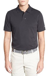 Ag Jeans Men's Ag 'Brass Tacks' Trim Fit Cotton Jersey Polo Caviar