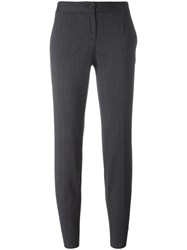 Dolce And Gabbana Cropped Trousers Grey