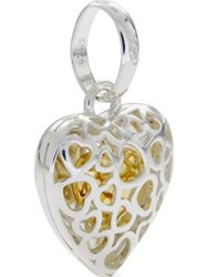 Links Of London Love Luck Keepsakes Cage Heart Charm Silver